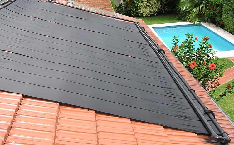 Resultado de imagen de colector solar piscinas